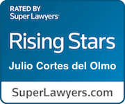 Del Olmo Law-Super Lawyers Rising Stars award